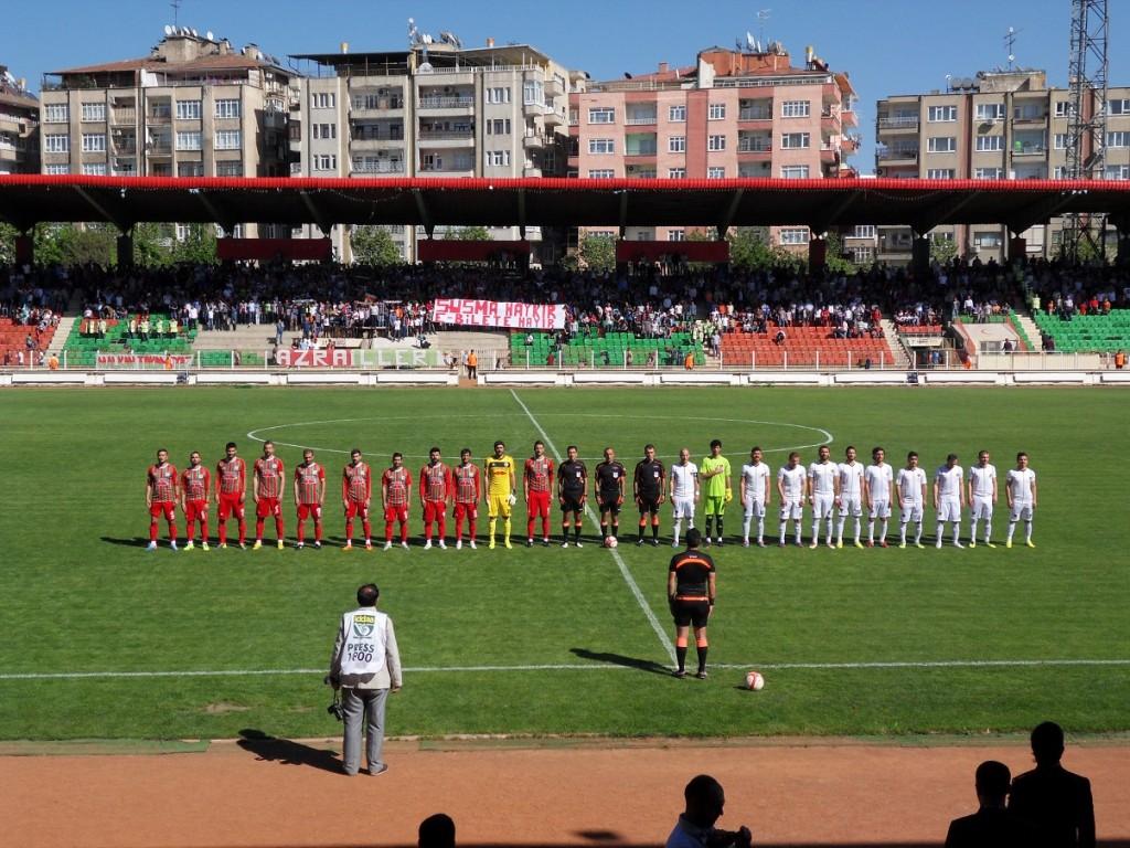 Atatürk Stadyumu - Diyarbakır, Türkei, 27.4.2014