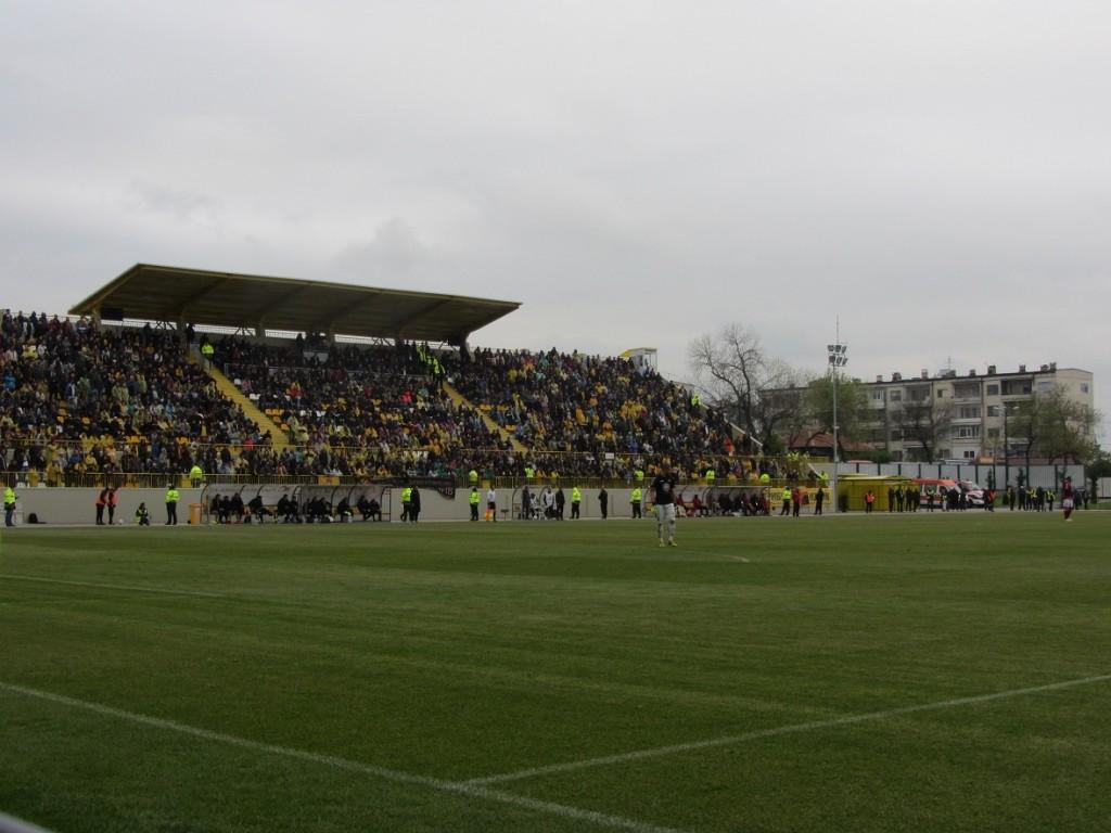 Stadion Komatevo Plovdiv, Bulgarien, 16.4.2014