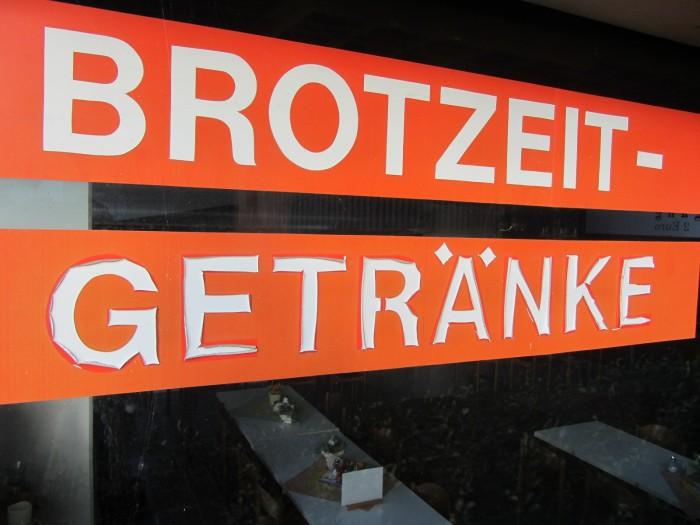 Brotzeit-Getraenke